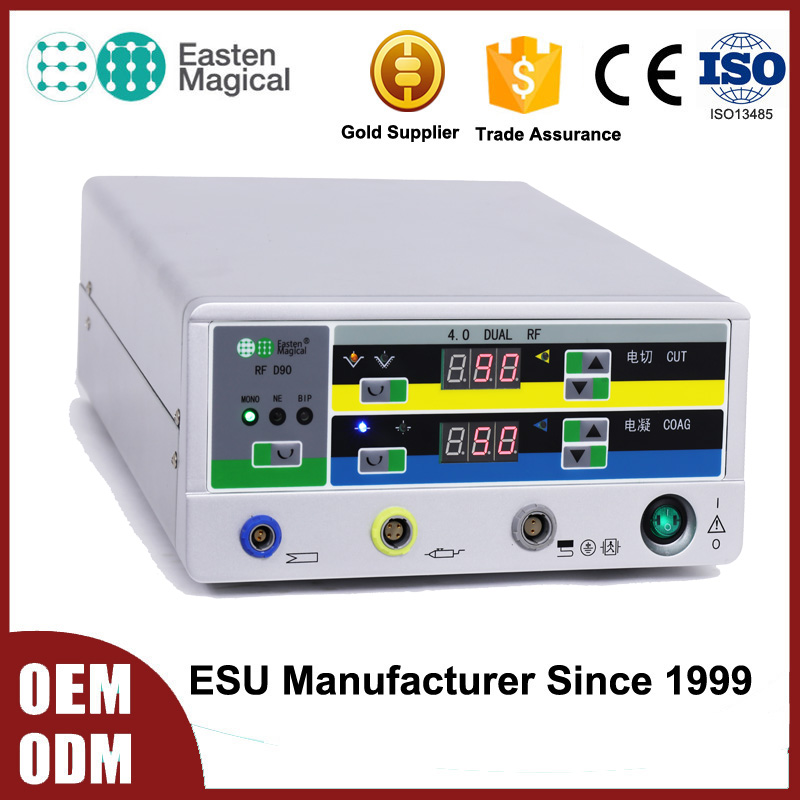 High Quality rf radio frequency machine Electrosurgical unit /Diathermy Machine /Cautery Unit for sale