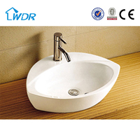 W6191A Bathroom Washing Hand Ceramic Vessel Sink