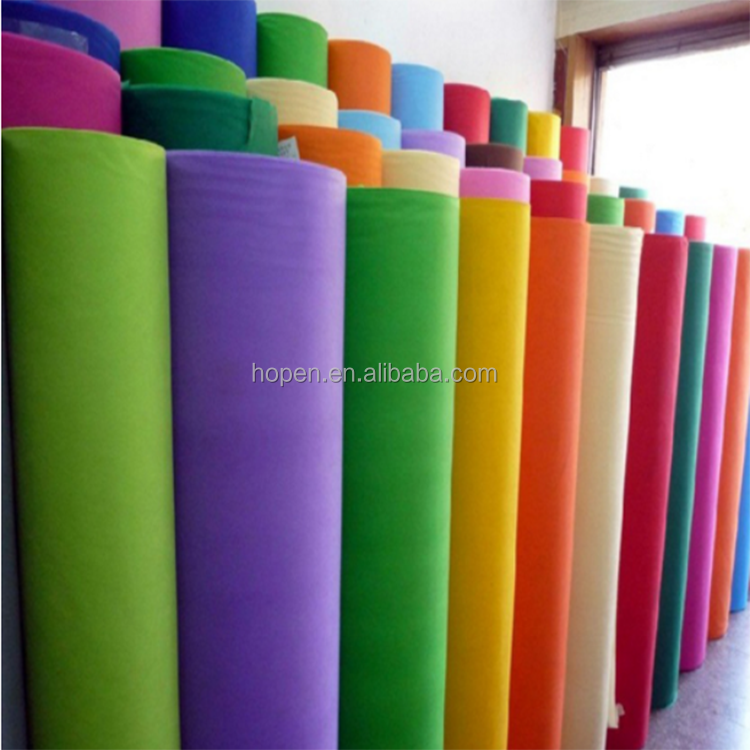 High Quality Lambs Wool Polyester Nonwoven Felt Fabric
