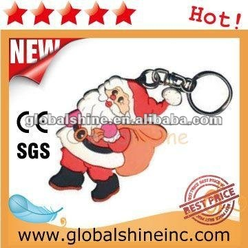 high quality 3d promotional car shape soft reubber pvc souvenir key chain/key holder