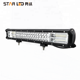 Factory wholesale STAR 3 Row high power 20inch 288W Triple Row Off Road crees Truck LED work Light Bar for car