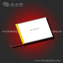 li ion battery 3.7v 3600mah ,805678 3600mAh gum battery