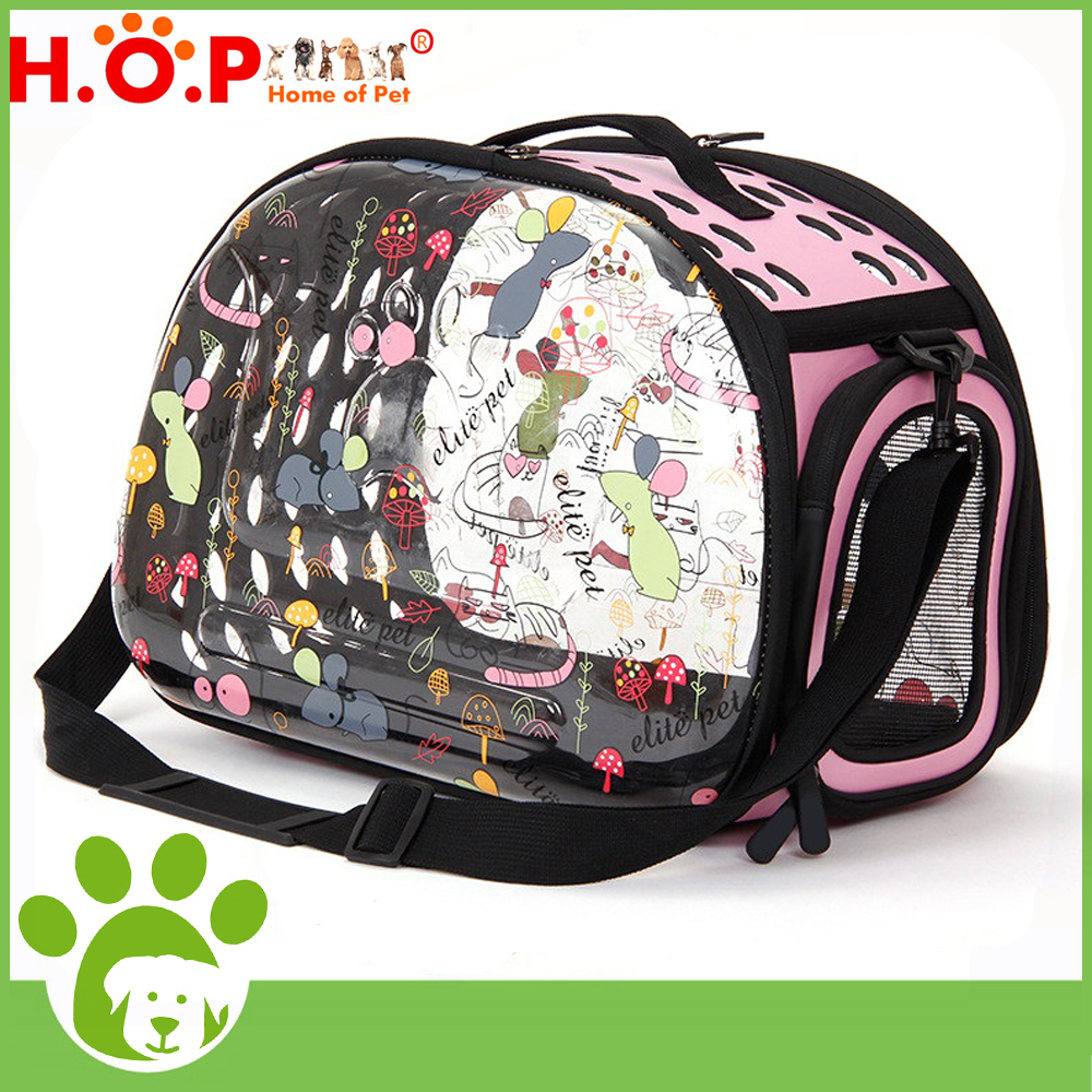 Wholesale High Quality Pet Carrier Bag Transparent Dog Bag New Fashion Home Of Pet Brand Fashion Eco-friendly Pet Carrier Bag