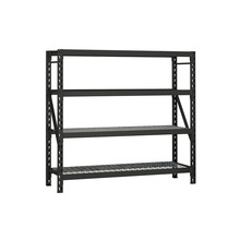 Supermarket Steel Metal Hanging Professional kd Structure Goods Slotted Angle Storage <strong>Rack</strong> Steel Plate Stacking <strong>Racks</strong>
