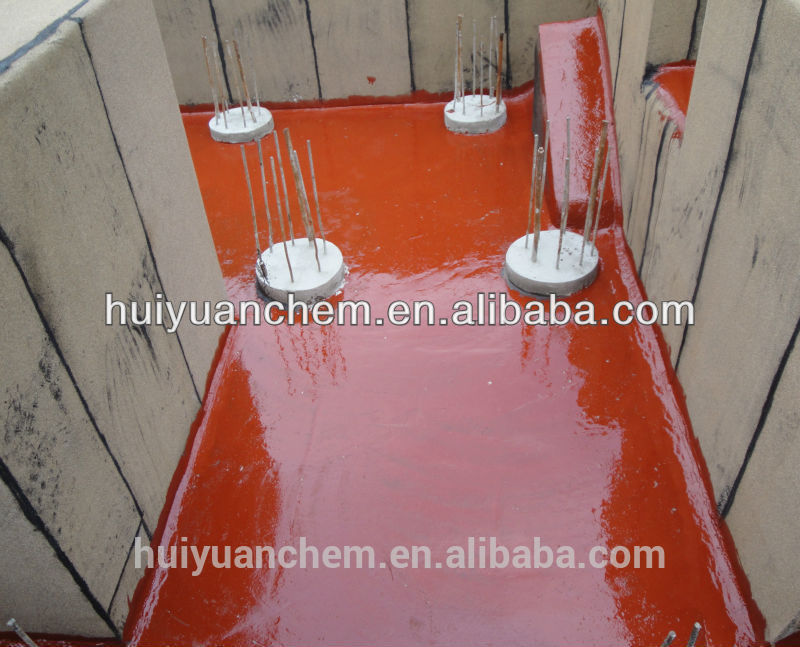 manufacturer: 25kg/drum, spray waterproof coating for roof tile waterproofing
