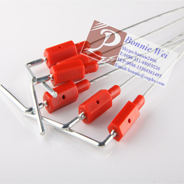 Double Protect Mechanism Wire Security Seal