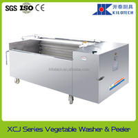 XCJ series carrots washer and peeler, potato peeling machine