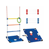 High quality plastic ladder toss game set with 6 ladder ball