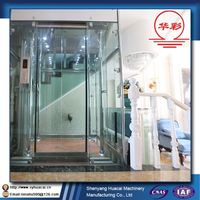 HC Top quality for 8 floors outdoors ISO factory price 6 person passenger elevator