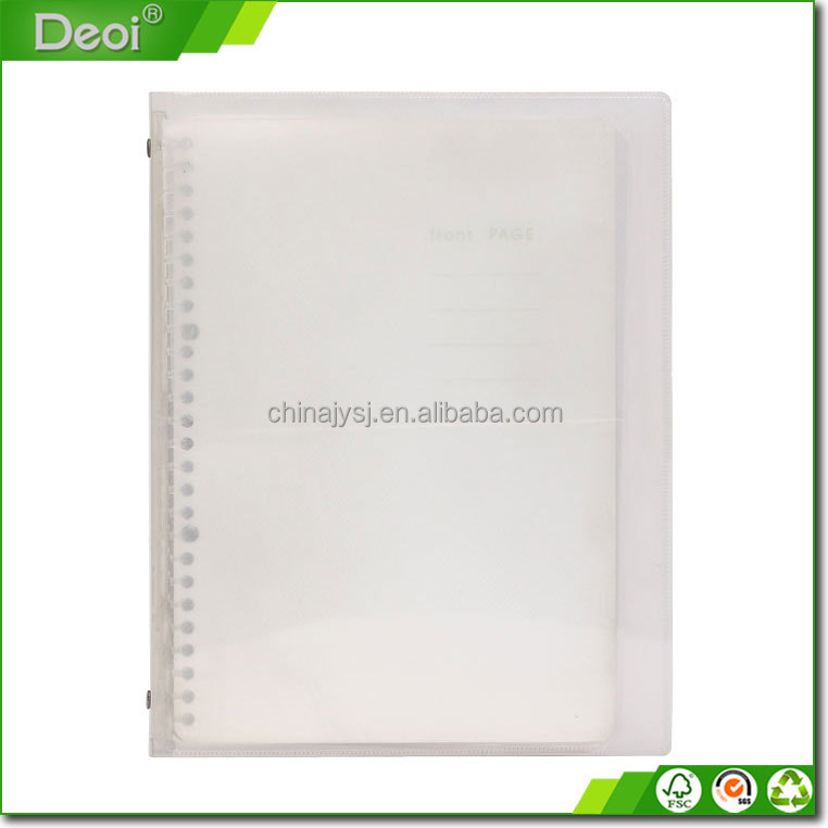 new style a4 clear file folder document holder