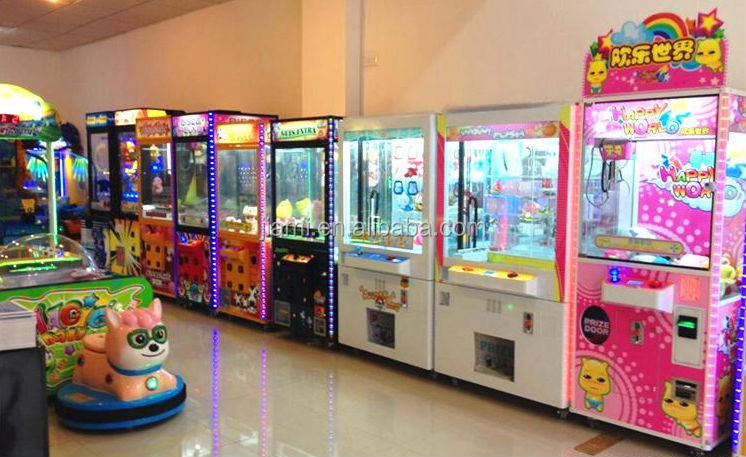 Claw Machine Plush Toys : Wow push plush toy claw crane machine coin operated