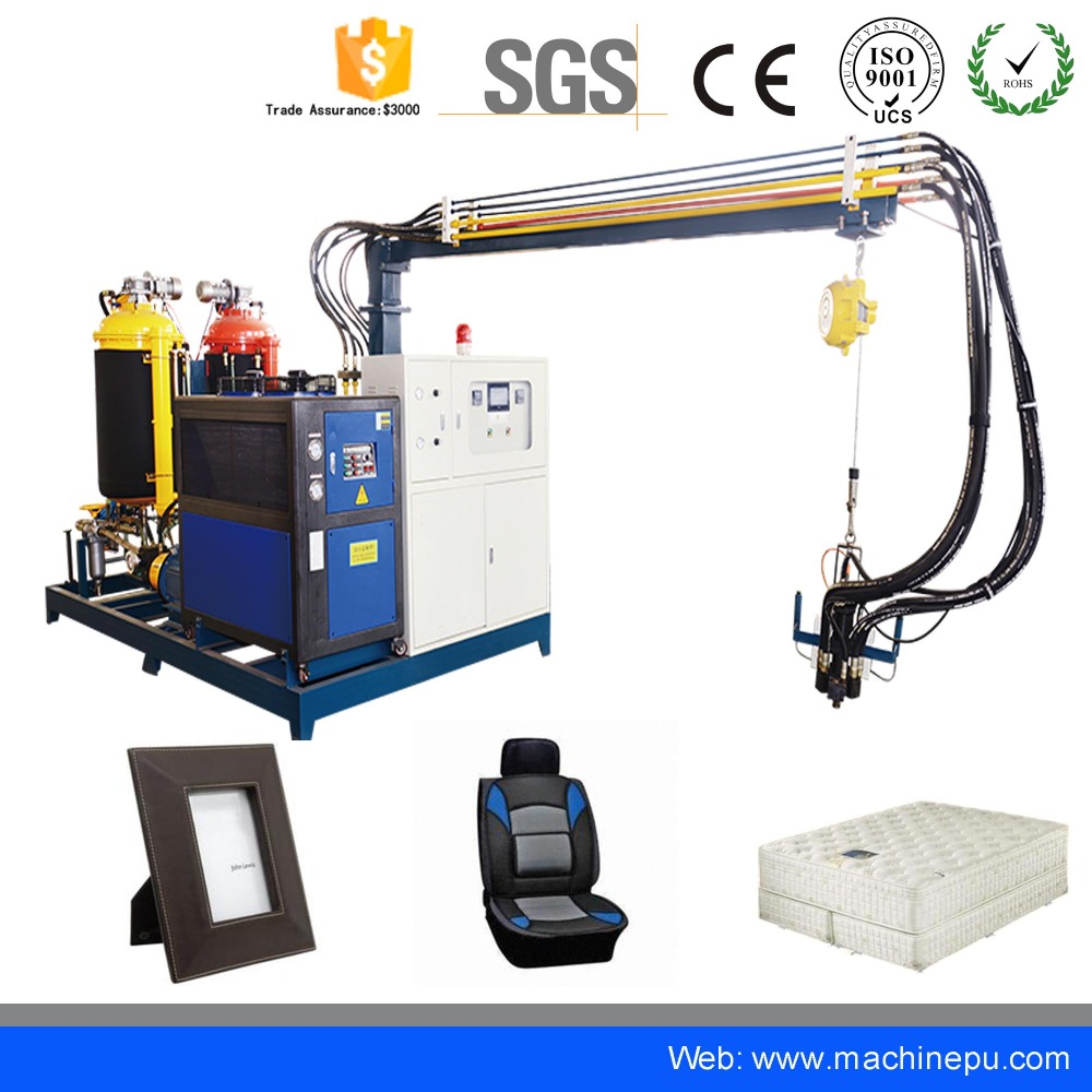 Imitation wood Picture Frame High Pressure polyurethane PU Foaming Machine