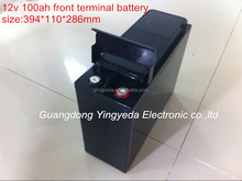 12v 100ah VRLA SLA Front Terminal agm 100Ah deep cycle Battery