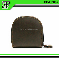 Wholesale vintage classic genuine leather coin pouch coin purse mini case