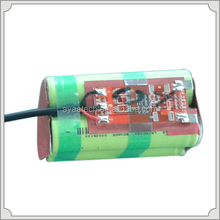 Rechargeable Lithium-Ion Battery Pack 18650 2S2P 7.4V 5.8ah Battery Pack for lighting