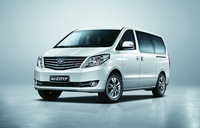 Gasoline Engine Front Drive China Car MPV