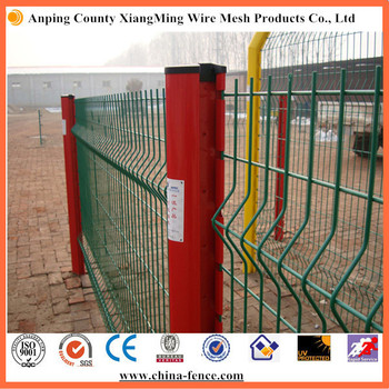 china manufacturer Galvanized and powder coated assembled garden fence/Welded euro fence/safety guard fence