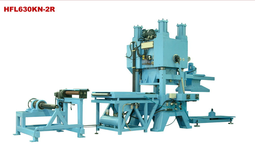 fin press production line used produce heat exchange of air conditioner