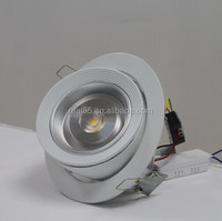 swivelling type recessed downlight,1x20W,Lustrous COB LED,5000K/4000K/3000K,1400~1800 lumen, 230VAC,TRIAC dimmable available,CE