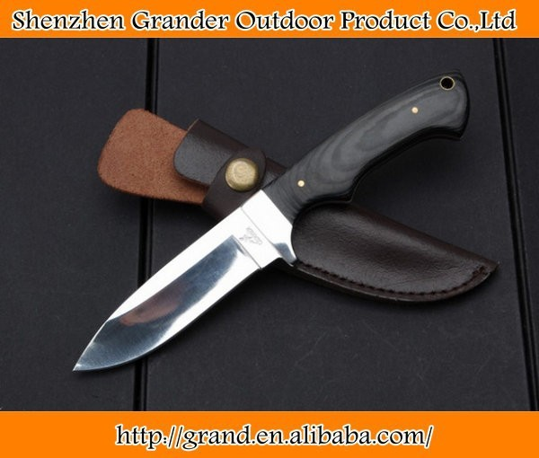 7Cr17 blade small hunting knife Micarta g10 handle camping outdoor knife 4609
