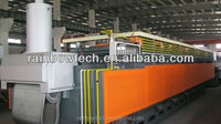 continuous heat treatment tempering furnace /electric annealing pit furnace/mesh belt furnace