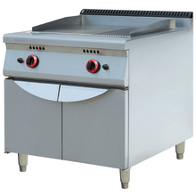 Kitchen machine equipment 304 commercial restaurant gas griddle cooker