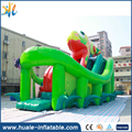 lizard model inflatable bouncy castle in amusement park