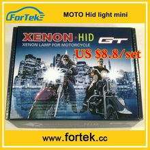 Mini motorcycle 12v 35w motor hid kit H6M/BA20d/H4/H7 6000K/8000K 35W/55W headlight