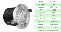 High quality COB stage light Energy 20W citizen cob led downlight saa with 0-10V dimmale driver