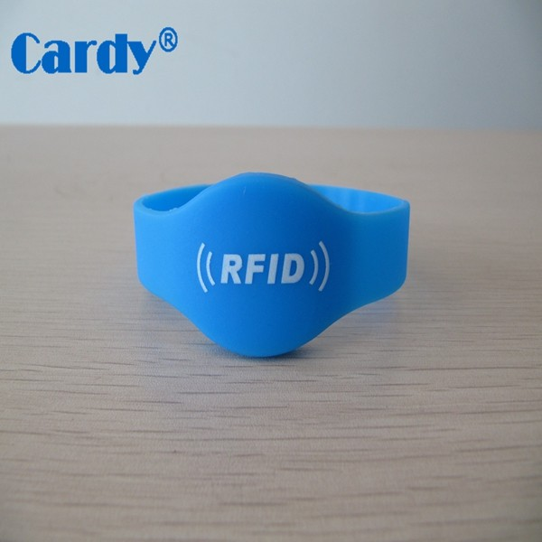 NFC RFID Bracelet Ntag216 Programmable Wristband