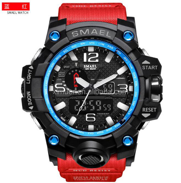 Wholesale factory multi functional mens watch water proof sport watch