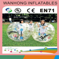PVC Inflatable bubble soccer ball football toys , Bumper loopy ball for outdoor fun & sports, soccer zorb ball