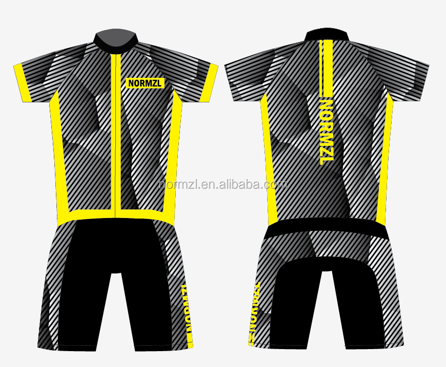 high quality custom sublimation printing men triathlon bicycle uniforms dry fit triathlon suit manufacturers