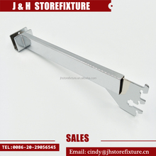 Upright Metal Garment Hanging Display Shelf Brackets for Rectangle Tube