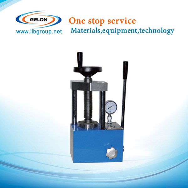 manual powder pellet press machine for coin cell battery lab machine
