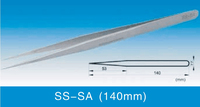 SA Series Super Fine High Precision Stainless Steel Tweezers SS-SA