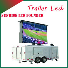 football stadium perimeter led screen display electronics Truck Mobile LED display