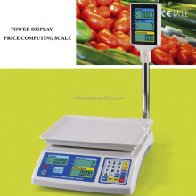 Electronic Food Fruit vegetable Pricing Weighing Scales