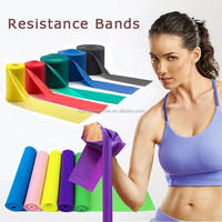 Light/Medium/Heavy Resistance Theraband With Custom Logo Printing