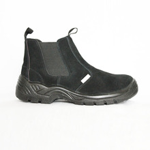 black suede leather pu sole winter safety boots industrial safety shoes