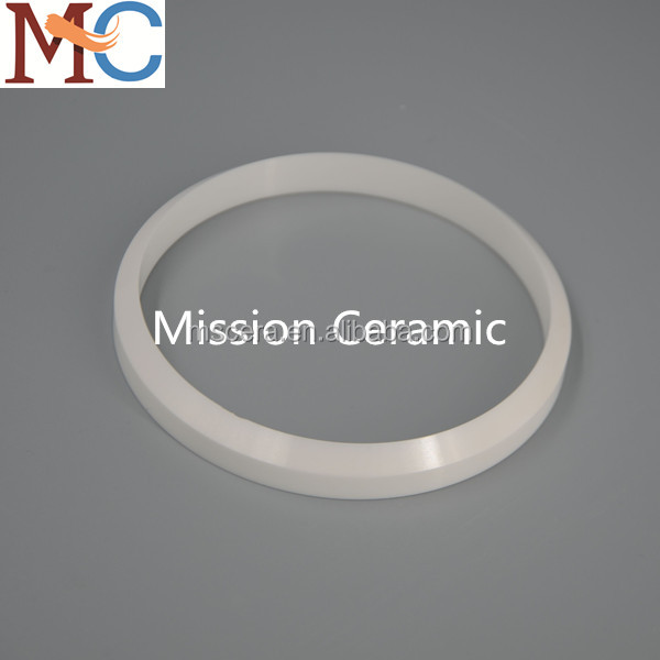 White Zirconia Ceramic Ring/ZrO2 Washer