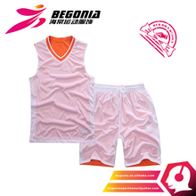 High Quality Authentic Polyester Basketball Sets For Men