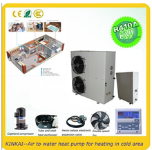 -25 degree heat pump split system evi air to water