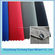 thick cotton fabric plain dyed for uniform/trousers