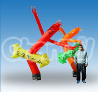 Flyguy Aridancer Japanese Text Inflatable Air Dancer for Advertising