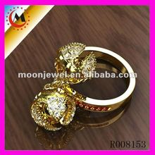 2012 JEWELRY GOLD RING UNIQUE JEWEL 3D موديل