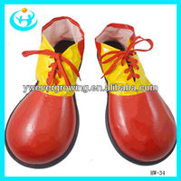 Cosplay costumes of clowns,a clown shoes halloween props