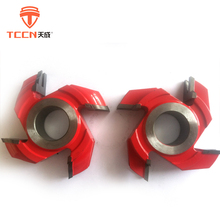 TCCN Manufacturers Customized Woodworking 4 Teeth TCT Shaper Cutter Heads