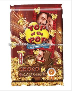 Top of the Pop Choco and Caramel Microwave Popcorn