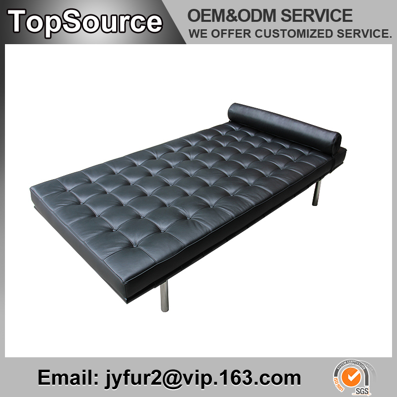 wholesale New Model Leisure Style Barcelona Leather Sofa Bed